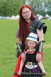 LARPing with Ada the pirate.