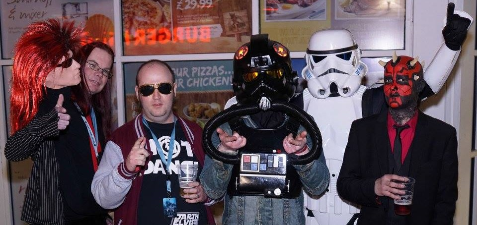 Winding down with Darth Elvis and the Imperiams at the Sci-Fi Weekender in March.